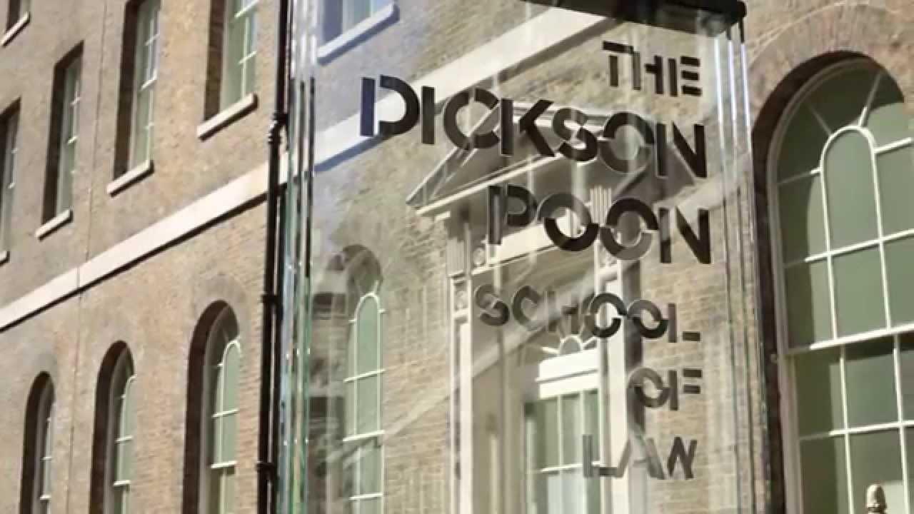 dickson poon school of law