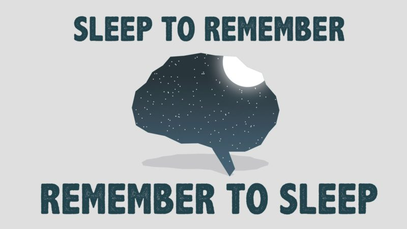 sleep-to-remember