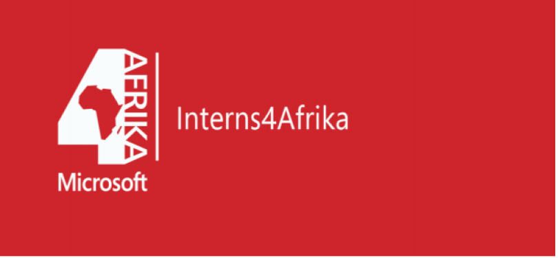 Microsoft 4Afrika Paid Internships