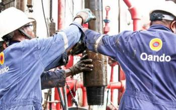 Oando stock price