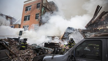 Building collapse is a common trend when an earthquake hits a region