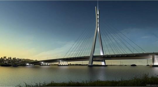 The bridge that links Lekki to Ikoyi