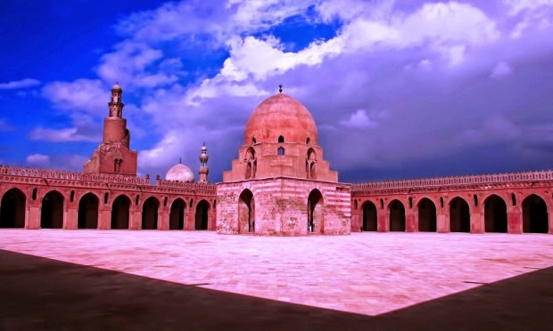 Ibn Tulun -one of the oldest mosques in Egypt