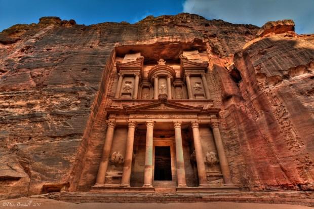 Ruins Of Petra in Jordan