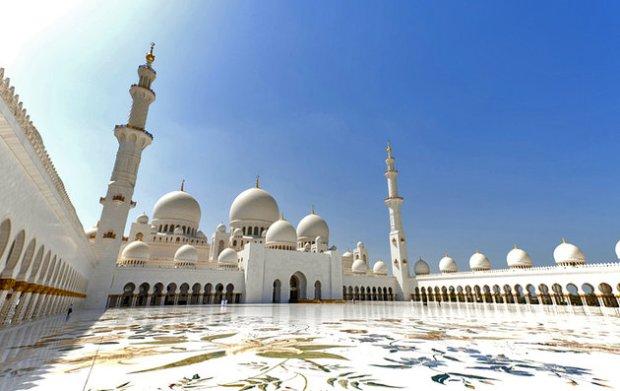 Fujairah Sheikh Ziyeed Mosque, UAE