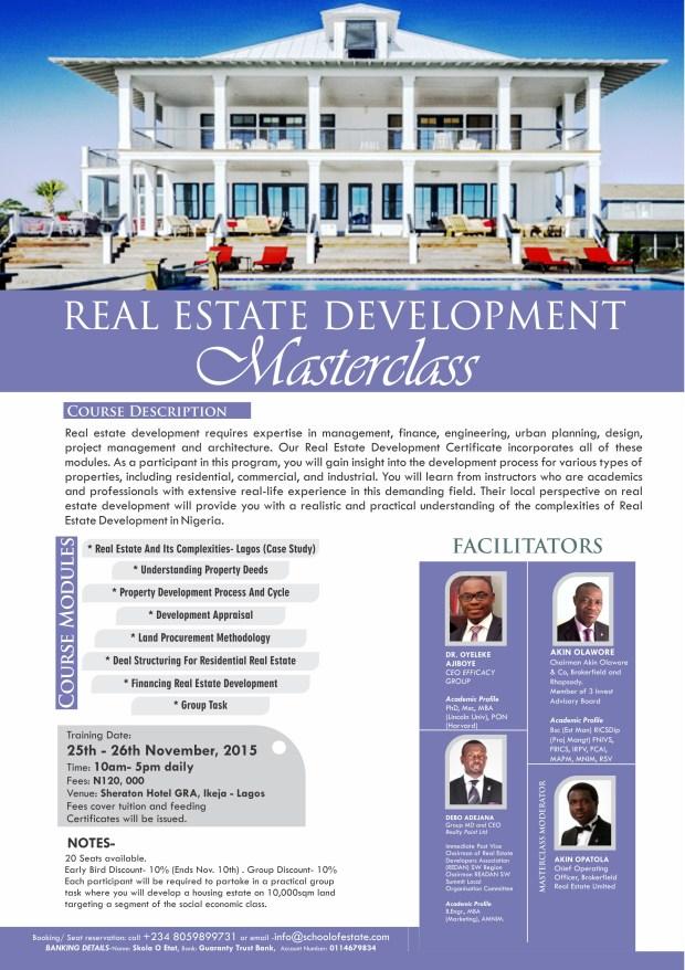 Real Estate Development Masterclass