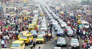 Traffic congestion in Lagos