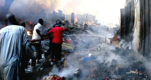 Fire Destroy Shops Worth Millions at Ikom Market
