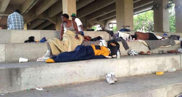 Homeless Nigerians