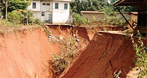 Erosion displaces 500 residents, destroys 100 houses in Anambra