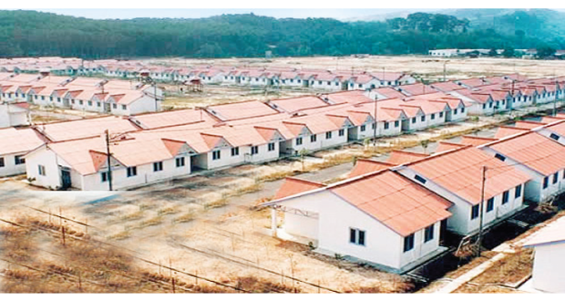 Ekiti national housing programme site closed