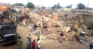 Tears as government demolishes Sabo market in Ikorodu