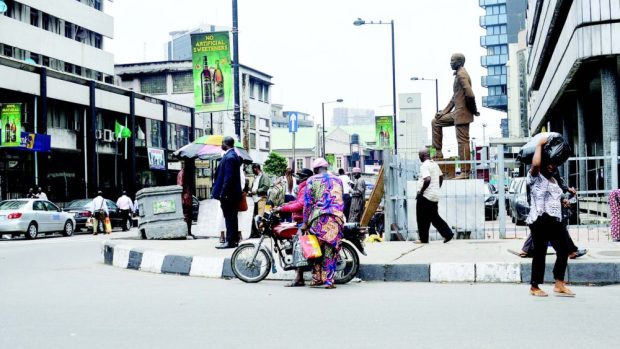 famous streets in Lagos