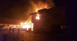 six houses razed as communities clash in Delta