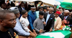 Osinbajo flags off construction of Bonny-Bodo road project