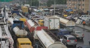 Lagos ports traffic gridlock