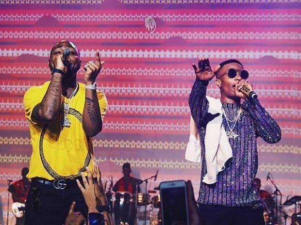 Davido - Wizkid - Lagos Concert