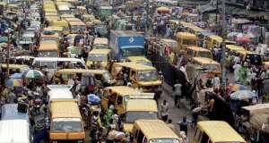 Gridlock on Lagos-Abeokuta Expressway over construction
