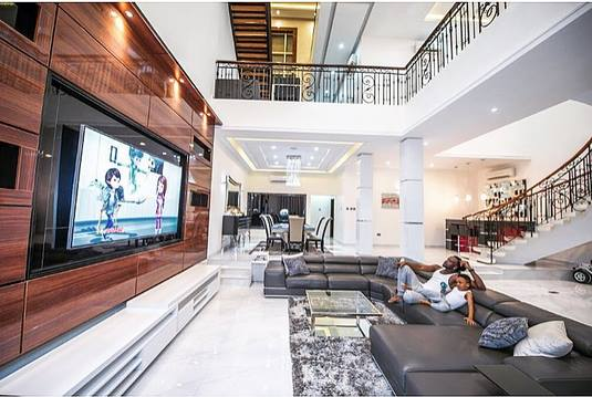 Psquare House - Most Expensive Homes In Nigeria
