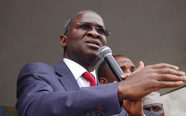 Over 50,000 Nigerians are now engaged in 127 construction sites– Fashola