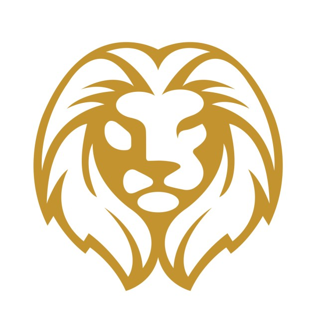 6330_PADDY'S Lion Crest_Gold_20X20