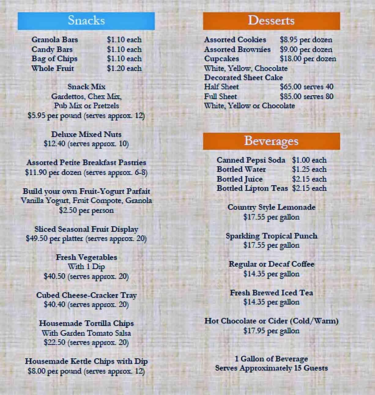 Catering Budget Templates