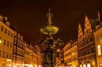 Copenhagen: Storkespringvandet (The Stork Fountain).