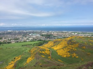 View of Edinburgh from Arthur's Seat (c) ABR 2016