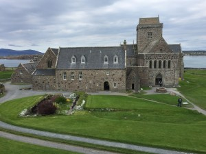 Abbey on Iona (c) ABR 2016