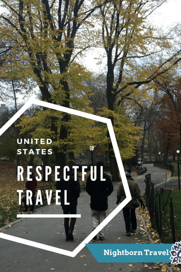 respectful travel