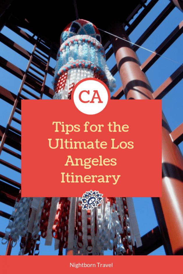 LA Itinerary