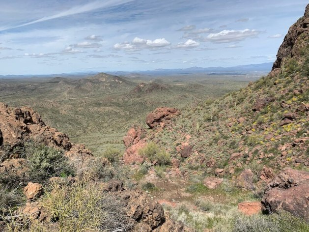 vulture peak trail