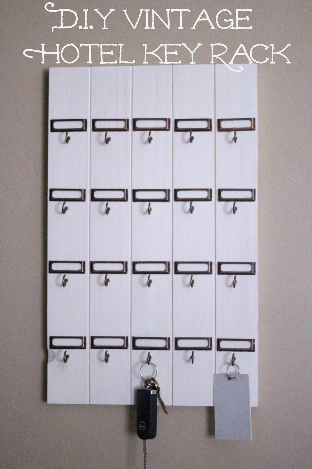 DIY Vintage Inspired Key Rack Nightchayde