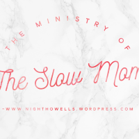The Ministry of the Slow Mom
