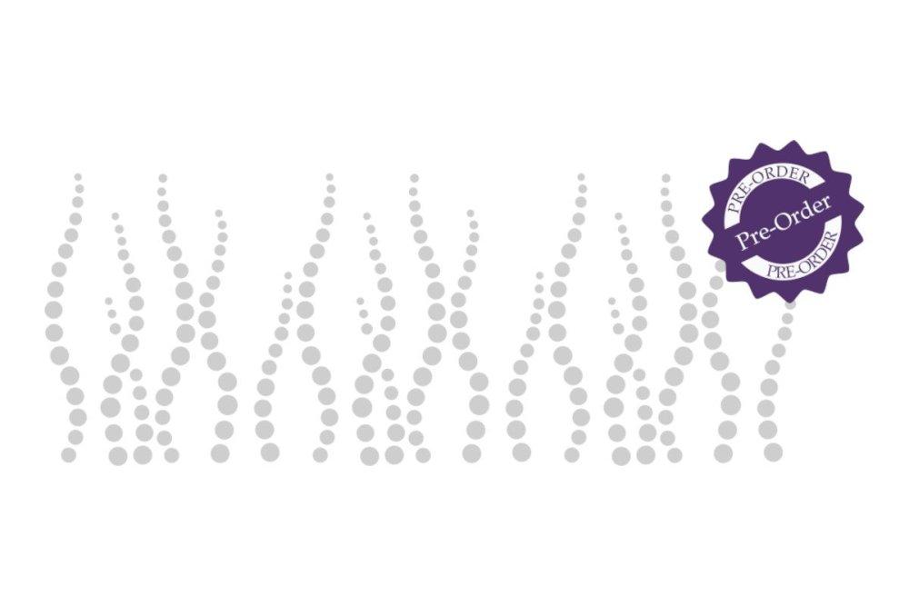 Bubble border stencil