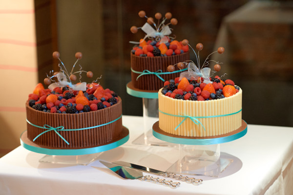 chocolate fruit wedding cake   Nightingale Cakes chocolate fruit wedding cake