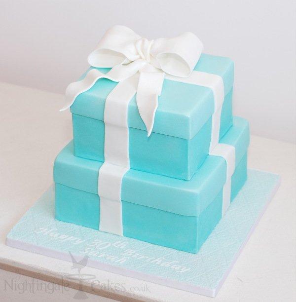 Gift box cake side nightingale cakes gift box cake negle Image collections