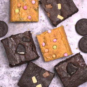 Mix brownies box