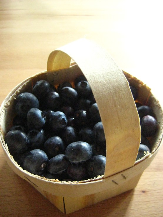 Blueberries from the Turkish food shop