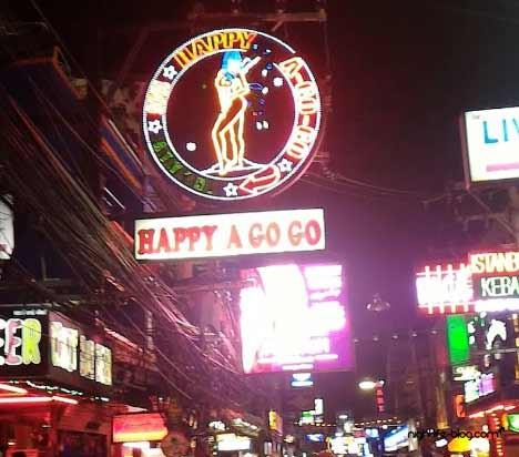 Happy Go-Go Bar Pattaya Walking Street