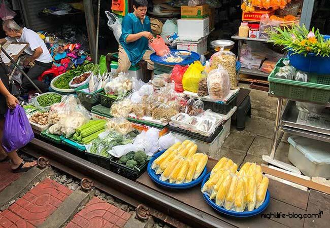 Eisenbahnmarkt Bangkok anreise