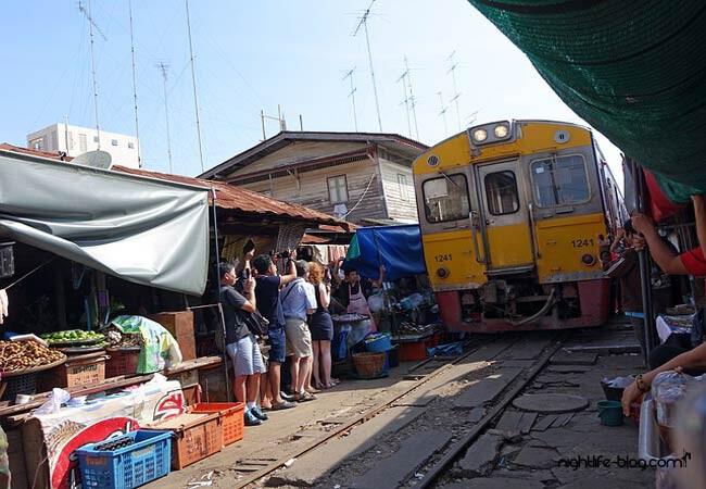 Eisenbahnmarkt Bangkok