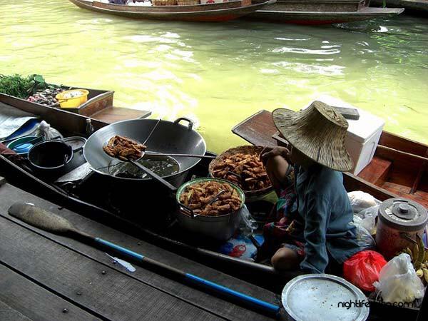 Floating Market Pattaya schwimmender Markt