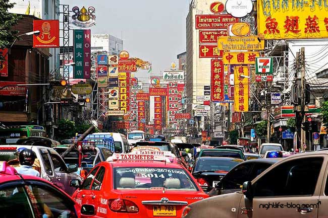 Sehenswürdigkeiten in Bangkok Chinatown