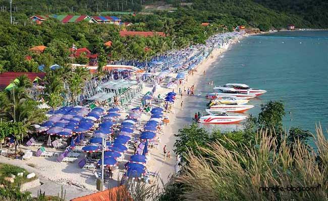 Ko Lan Tawaen Beach