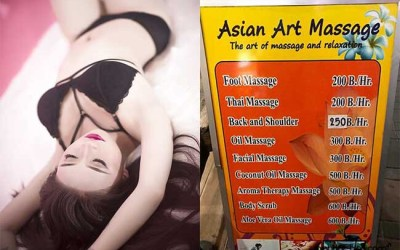 Bangkok Thai Massage mit Happy End  – Sex Massage Parlors