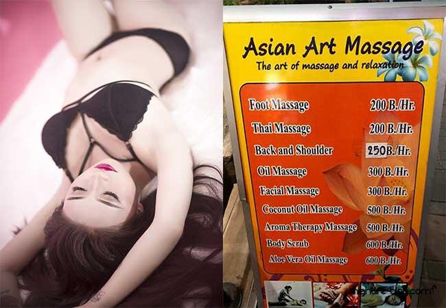 Bangkok Thai Massage mit Happy End  – Sex Massage Parlors