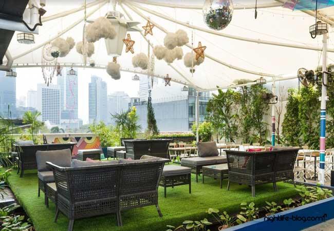 Porque No Jakarta Rooftop Bar