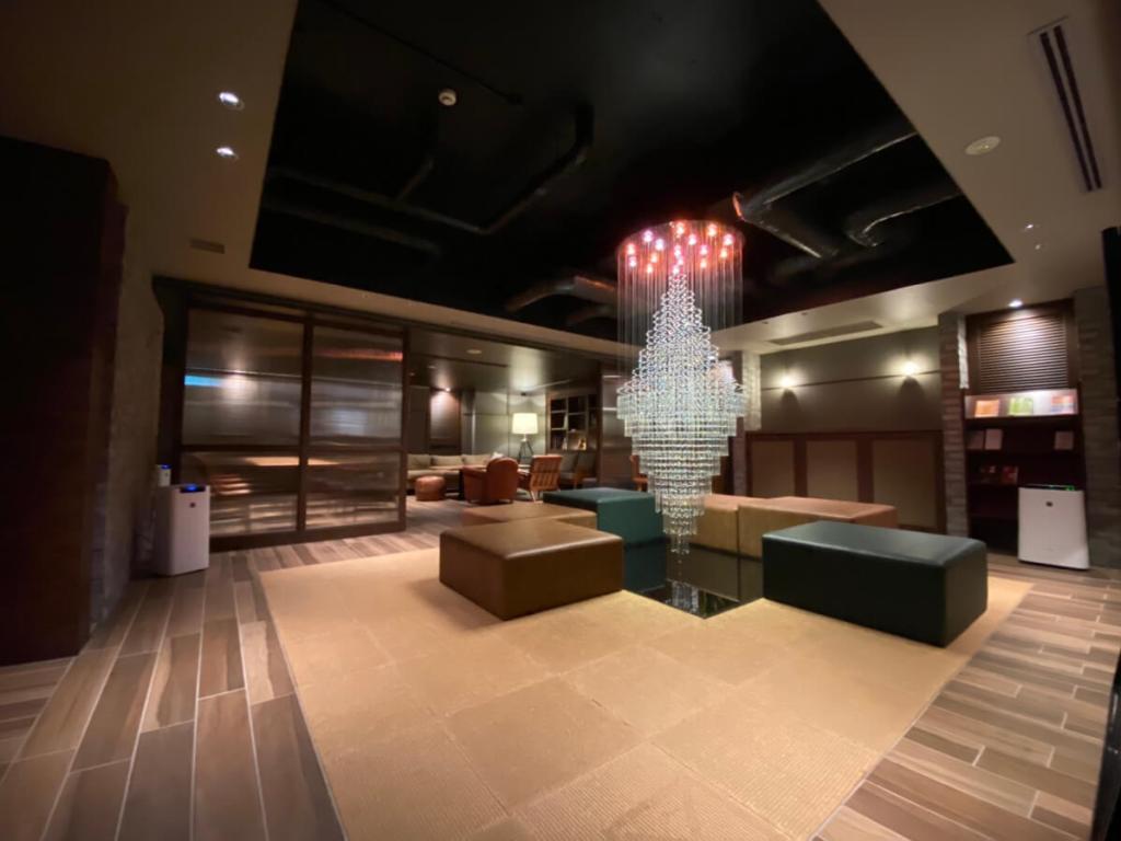 錦糸町のラブホテルHOTEL BAMBOO GARDENのラウンジスペース