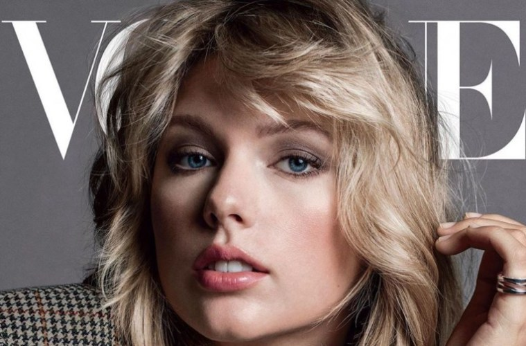 Taylor Swift in Vogue Featured Image